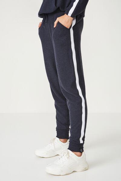 Afl Ladies Supersoft Slim Leg Pant, CARLTON