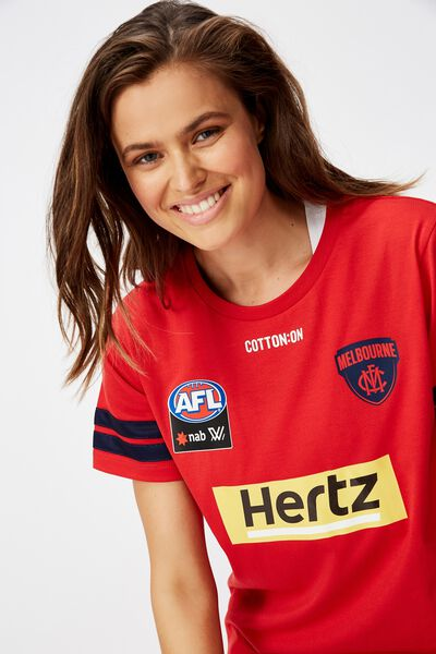 Aflw 2020 Coaches Training Tee - Womens, MELBOURNE