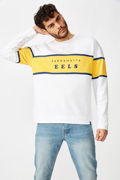 Nrl Mens Fleece Crew, EELS