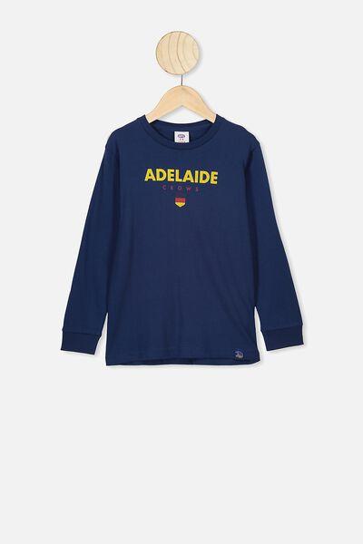 Afl Kids Graphic Long Sleeve, ADELAIDE