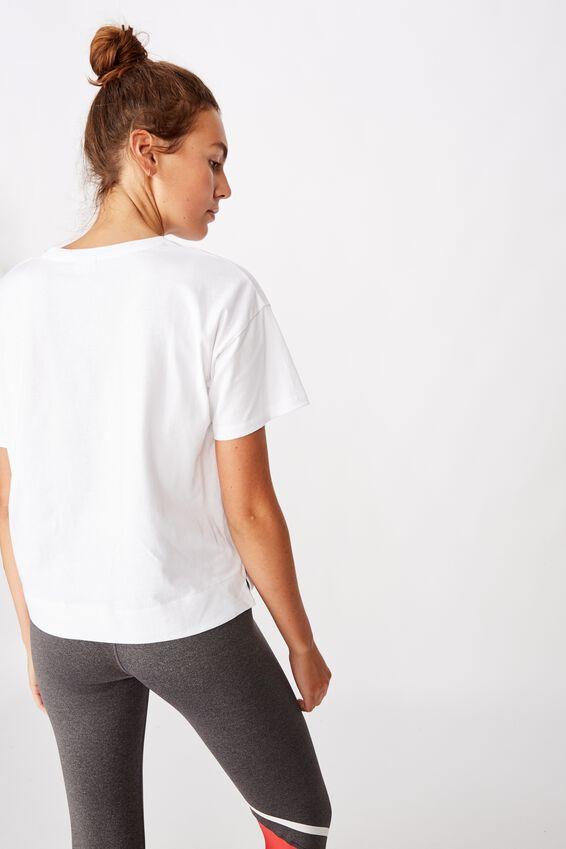 Afl Womens Cropped T-Shirt, SYDNEY SWANS