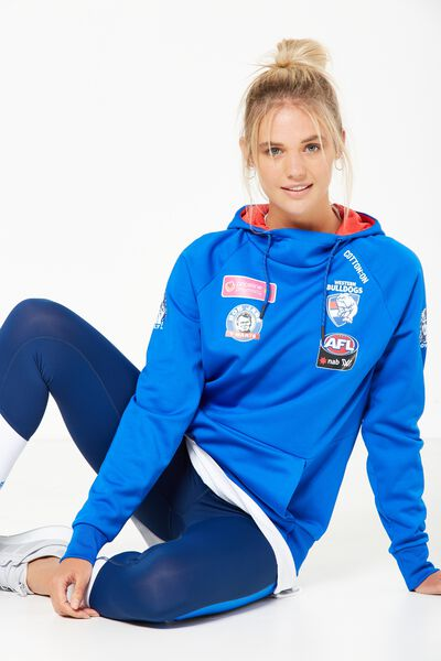 Aflw Tech Fleece Hoodie, WESTERN BULLDOGS