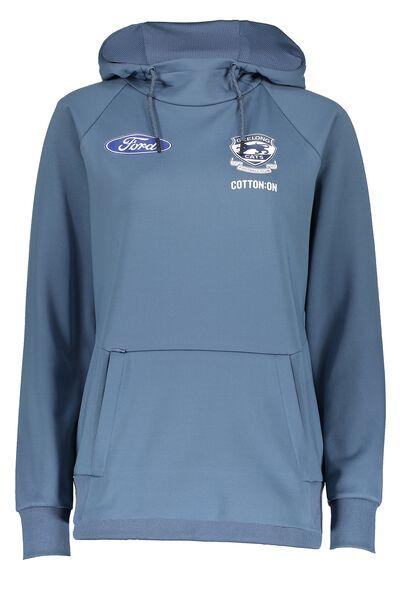 Gfc Tech Fleece Pullover - Womens, DENIM BLUE