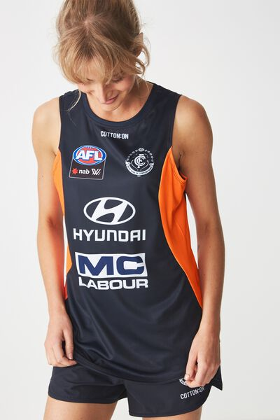 Aflw 2019 Training Tank, CARLTON