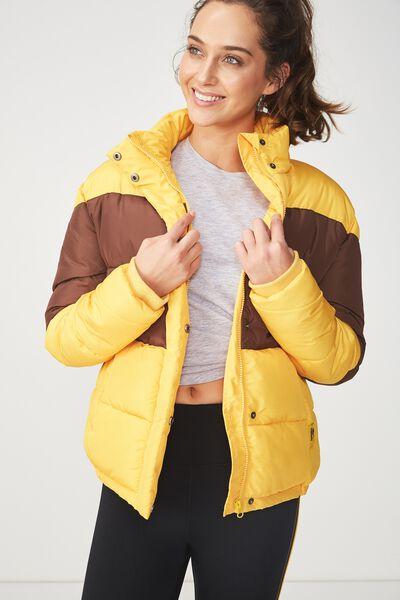Afl Puffer Jacket, HAWTHORN