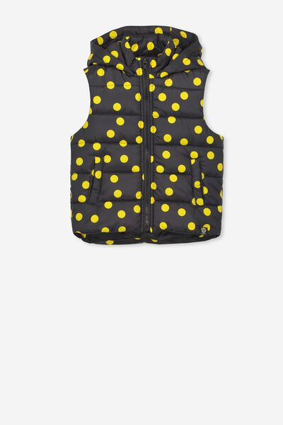Afl Girls Puffer Vest, RICHMOND