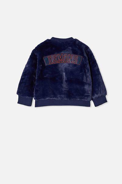 Afl Kids Fur Bomber Jacket, MELBOURNE