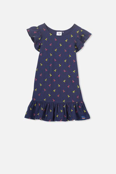 Afl Girls Frill Dress, ADELAIDE