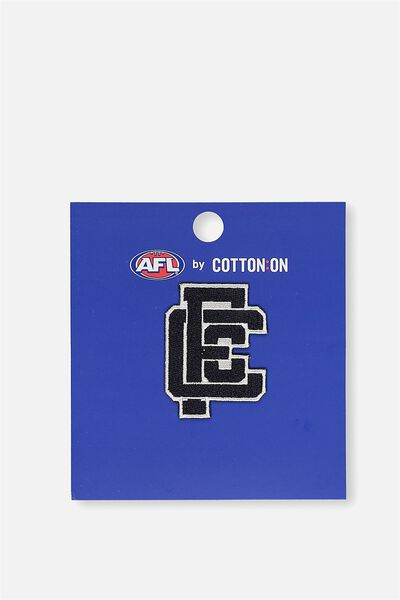 Afl Iron On Badge 2 - Logo, CARLTON