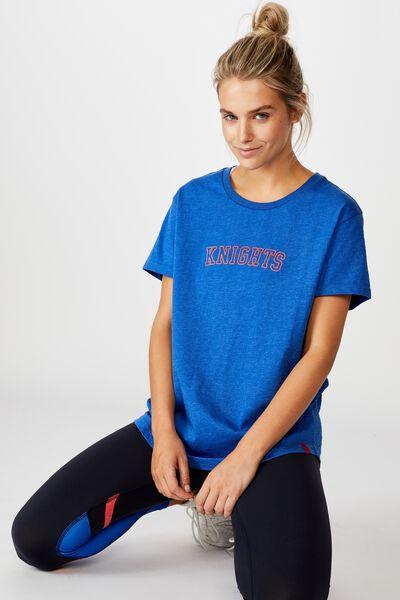 Nrl Womens Graphic T-Shirt, KNIGHTS