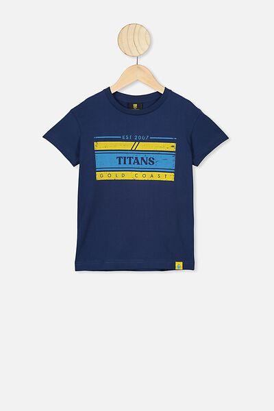 Nrl Kids Graphic T-Shirt, TITANS