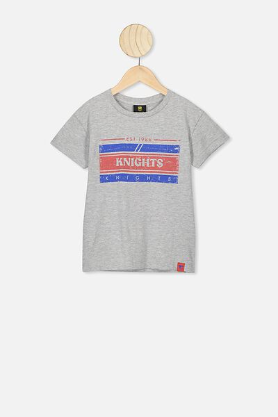 Nrl Kids Graphic T-Shirt, KNIGHTS