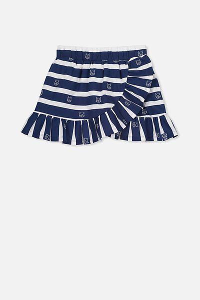 Afl Girls Ruffle Skirt, GEELONG
