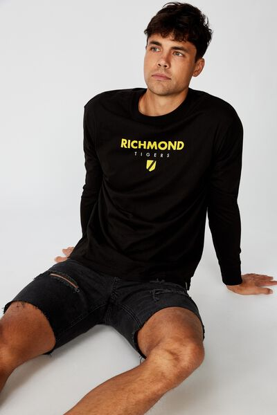 Afl Mens Graphic Long Sleeve, RICHMOND