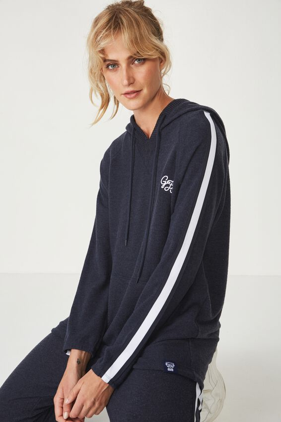 GEELONG AFL ladies supersoft hoody, GEELONG