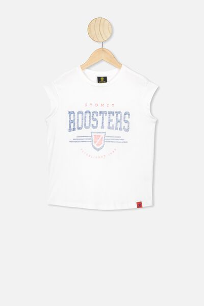 Nrl Kids Graphic Tank Top, ROOSTERS