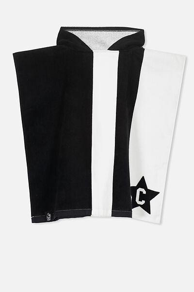 Afl Kids Poncho Towel, COLLINGWOOD