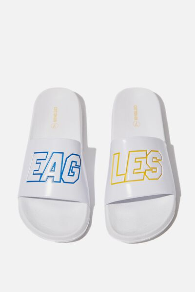 Afl Unisex Logo Slide, WEST COAST EAGLES