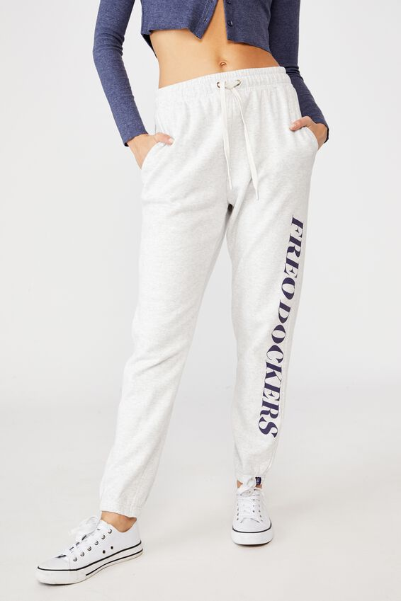 Afl Womens Old School Track Pant, FREMANTLE