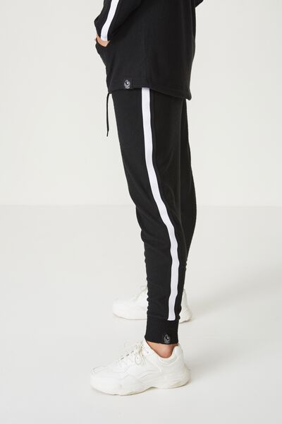 Afl Ladies Supersoft Slim Leg Pant, COLLINGWOOD