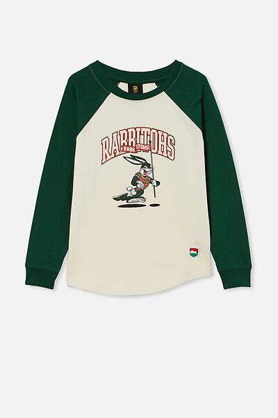 Nrl Kids Raglan Ls Top, RABBITOHS