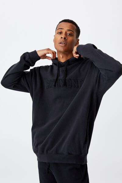 Afl Mens Embroidered Hoodie, RICHMOND