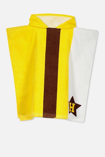 Afl Kids Poncho Towel, HAWTHORN