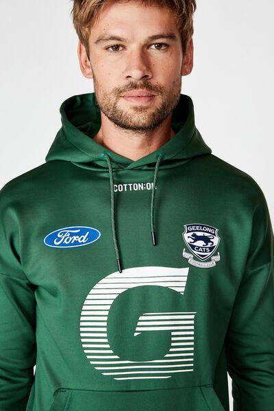 Gfc 2020 Tech Fleece Pullover, MILITARY GREEN