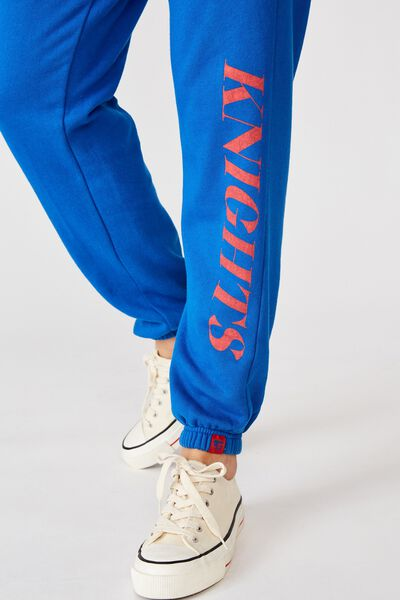 Nrl Womens Old School Track Pant, KNIGHTS