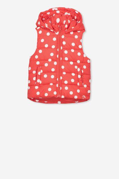 Afl Girls Puffer Vest, SYDNEY
