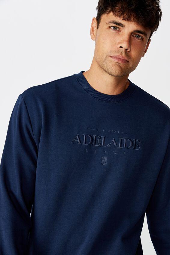 Afl Mens Old School Jumper, ADELAIDE