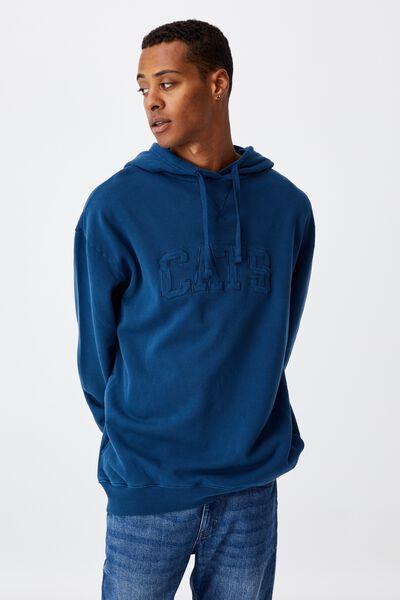 Afl Mens Embroidered Hoodie, GEELONG