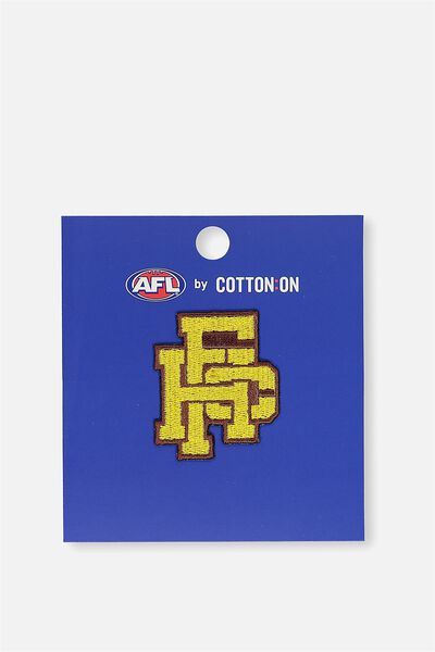 Afl Iron On Badge 2 - Logo, HAWTHORN