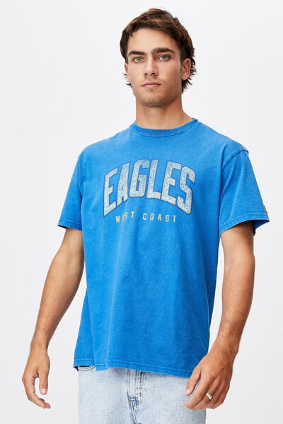 Afl Mens Collegiate T-Shirt, WEST COAST