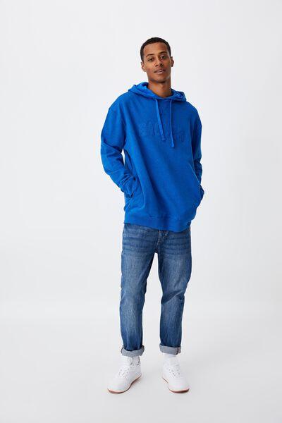 Afl Mens Embroidered Hoodie, WEST COAST