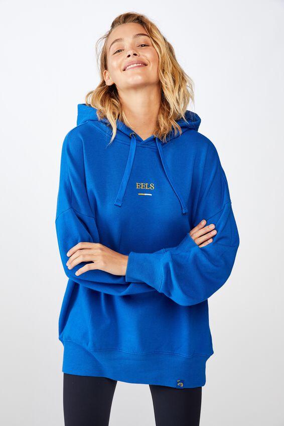 Nrl Womens Embroidered Hoodie, EELS