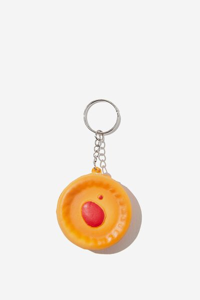 Afl Novelty Squishy Keyring, MEAT PIE