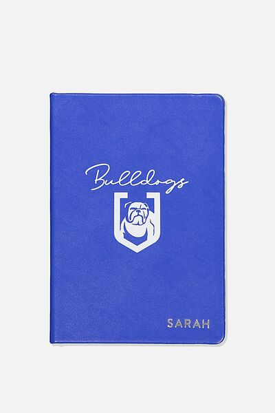 Personalised Nrl Buffalo Journal, BULLDOGS