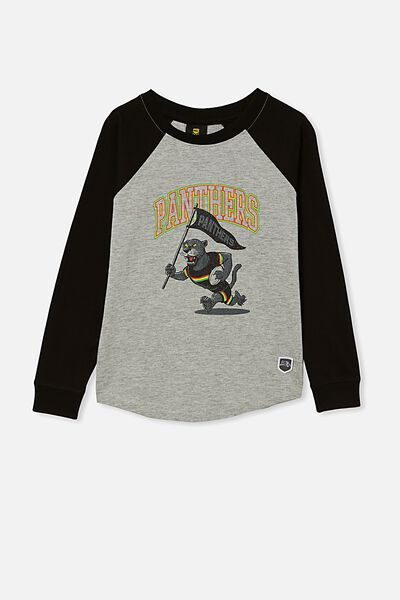 Nrl Kids Raglan Ls Top, PANTHERS