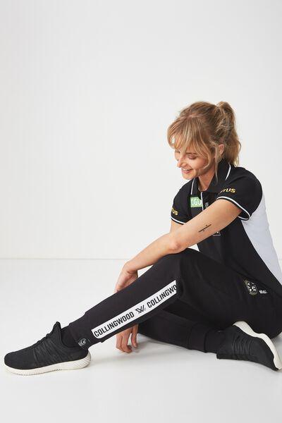 Aflw 2019 Ladies Trackpant, COLLINGWOOD