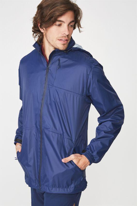 Team Wet Weather Jacket, NAVY