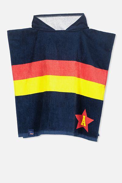 Afl Kids Poncho Towel, ADELAIDE