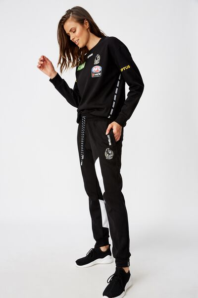 Aflw 2020  Trackpant - Womens, COLLINGWOOD