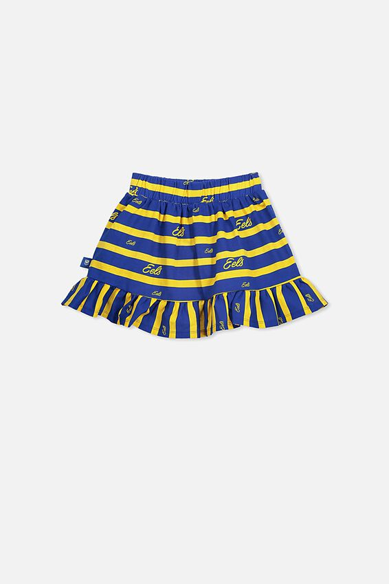 Nrl Girls Ruffle Skirt, EELS