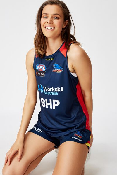 Aflw 2020 Training Tank - Womens, ADELAIDE