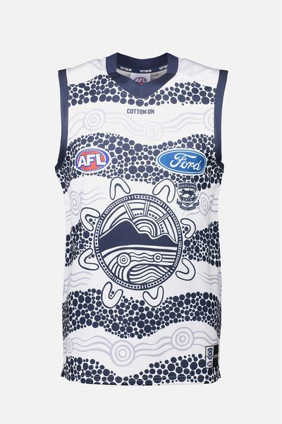 Gfc Retail Adult Guernsey - Indigenous, WHITE