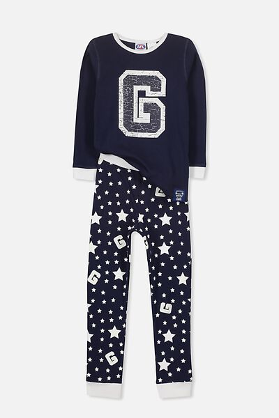 Afl Kids Pj Set, GEELONG