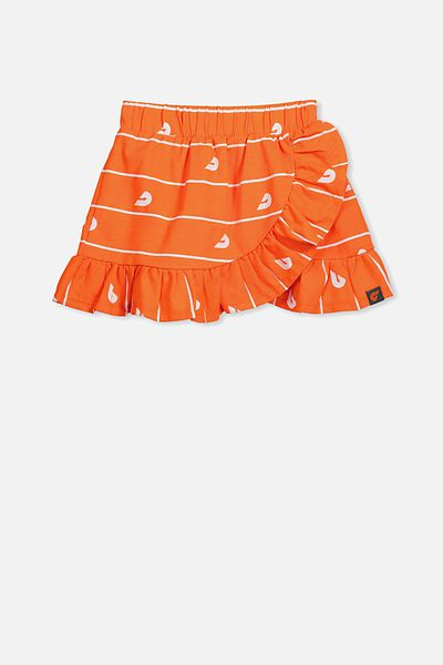 Afl Girls Ruffle Skirt, GWS
