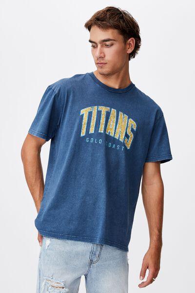 Nrl Mens Collegiate T-Shirt, TITANS