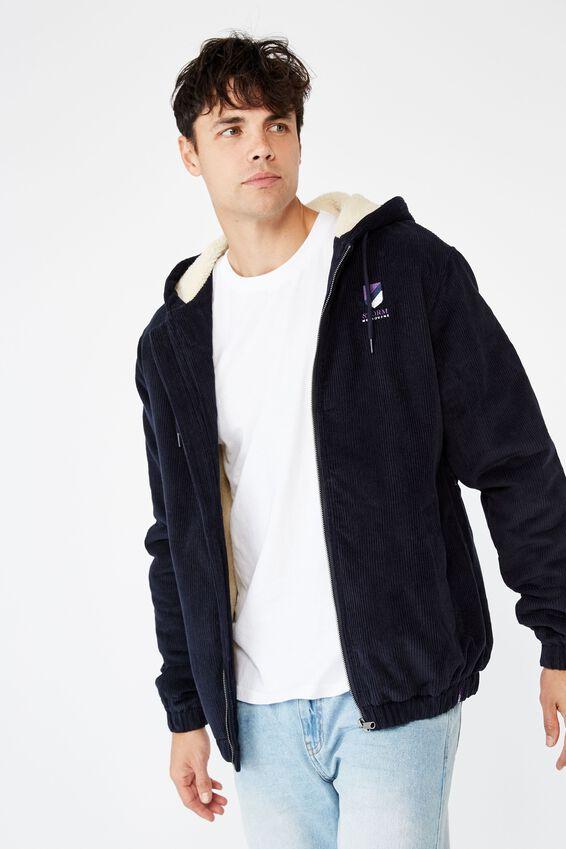 Nrl Mens Corduroy Jacket, STORM